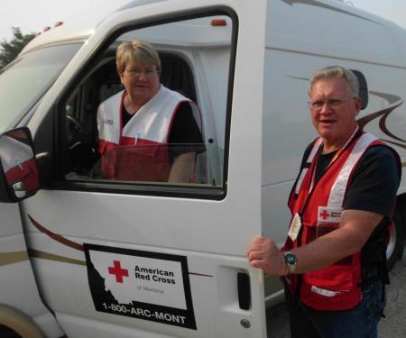 evacuate and volunteer