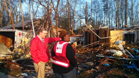 IMG_20130214_072942_277 Chenita Wilson and Jay Vonover review Chapter damage 02142013