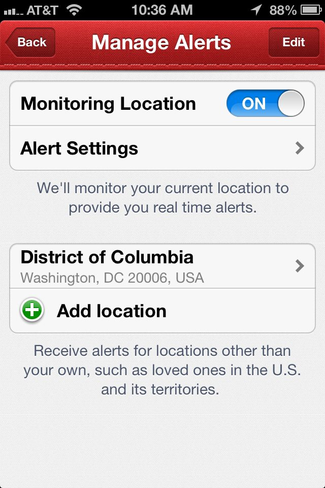 HOW TO: Set An Alert for Tornado Warnings On Your Phone